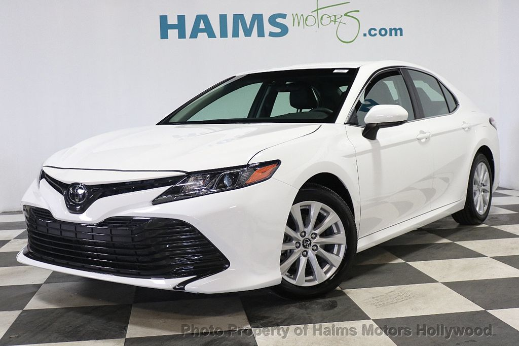2018 Used Toyota Camry Le Automatic At Haims Motors Serving Fort