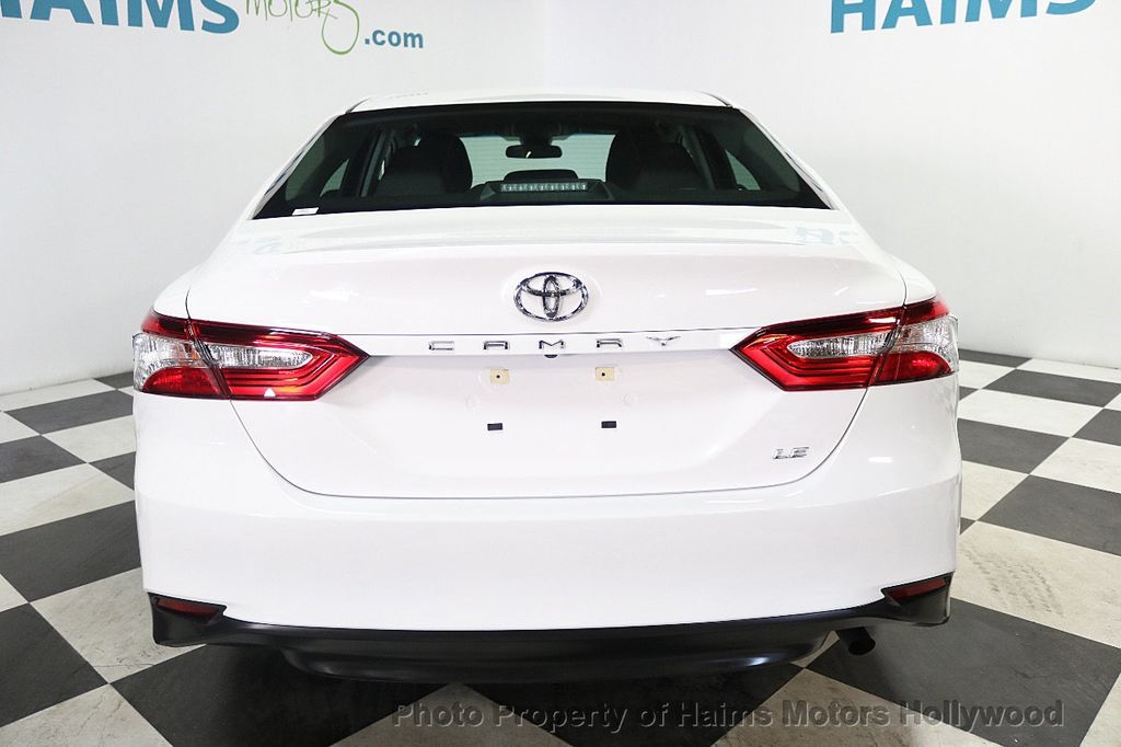 2018 Toyota Camry LE Automatic - 17875278 - 5