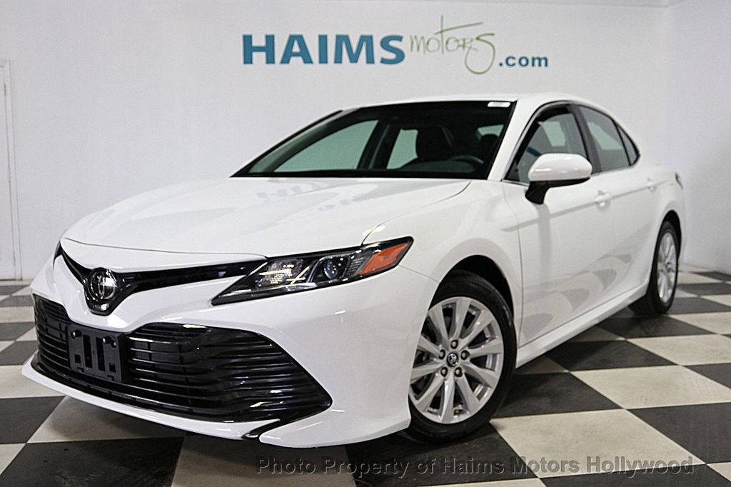 Toyota Dealer Miami >> 2018 Used Toyota Camry LE Automatic at Haims Motors ...