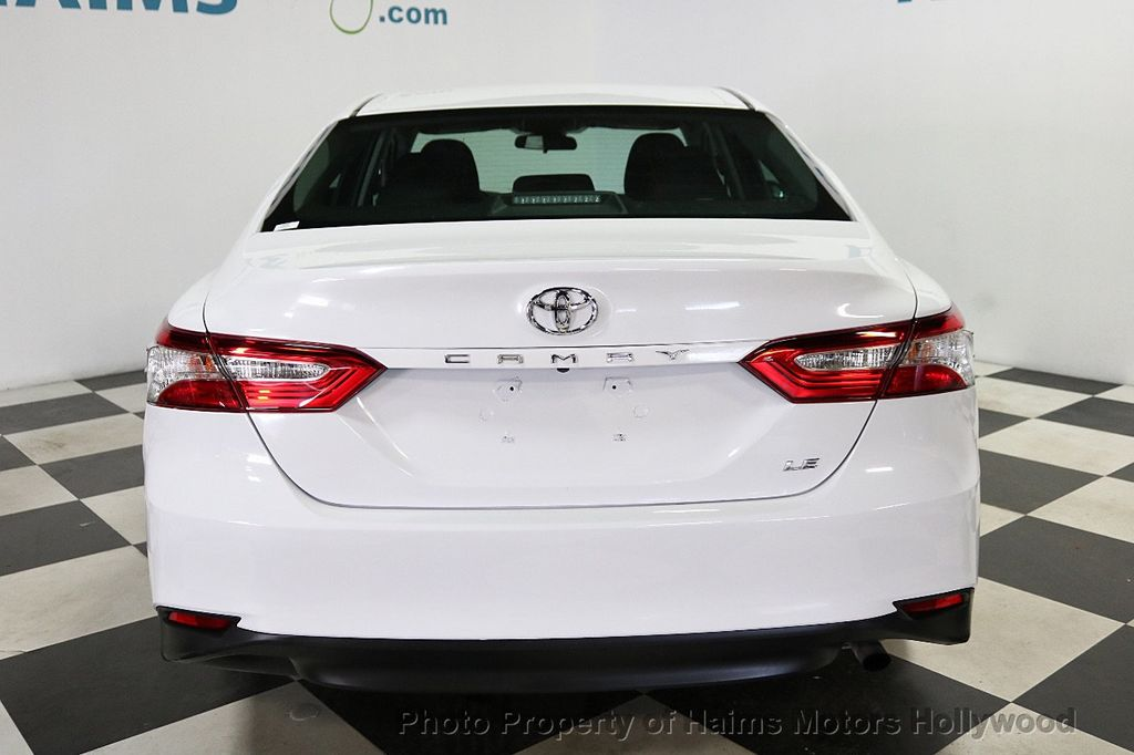 2018 Toyota Camry LE Automatic - 18090664 - 5