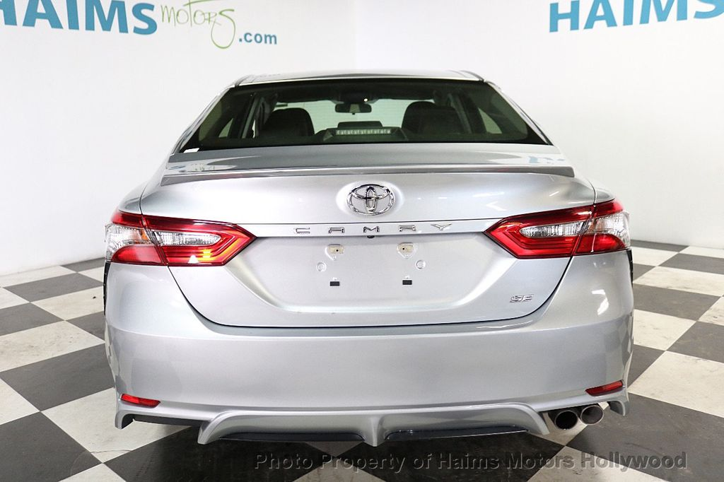 2018 Toyota Camry SE Automatic - 18202674 - 5