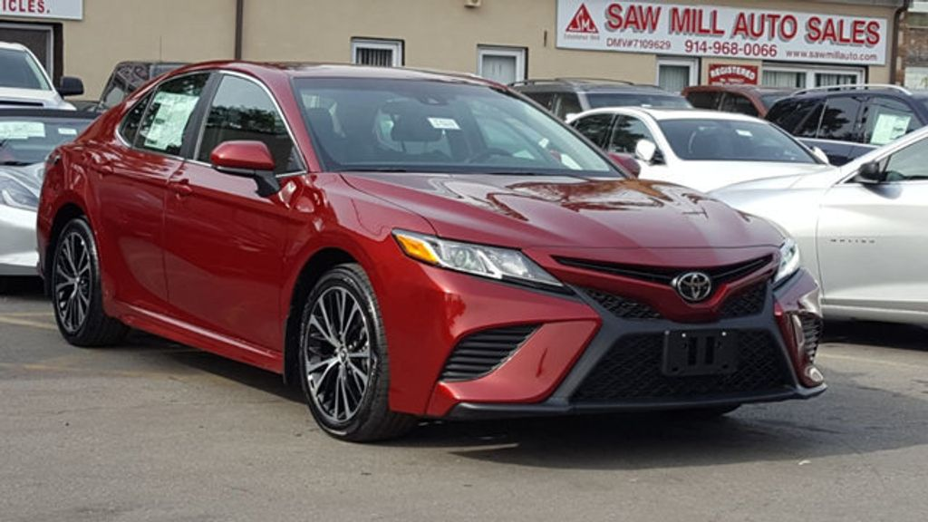 2018 Toyota Camry SE Automatic - 18245706 - 3