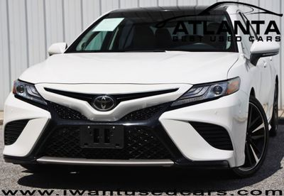 Panoramic Roof Cars >> 2018 Used Toyota Camry Xse Automatic W Audio Panoramic Roof Packages At Atlanta Best Used Cars Serving Peachtree Corners Ga Iid 19269690