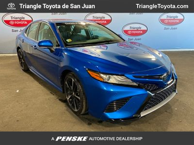 2018 Toyota Camry XSE V6 Automatic Sedan - Click to see full-size photo viewer
