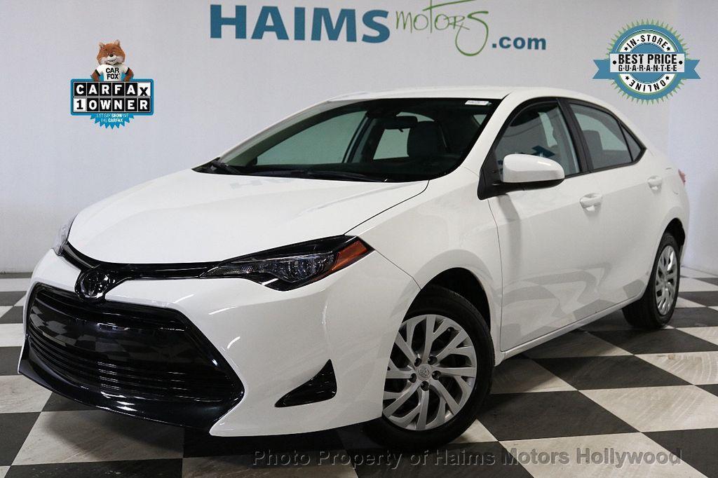 2018 Toyota Corolla LE CVT - 18295701 - 0