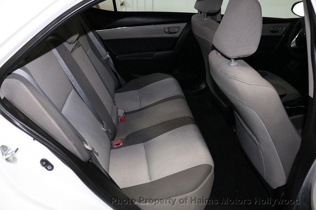 2018 Toyota Corolla LE CVT - 18295701 - 14