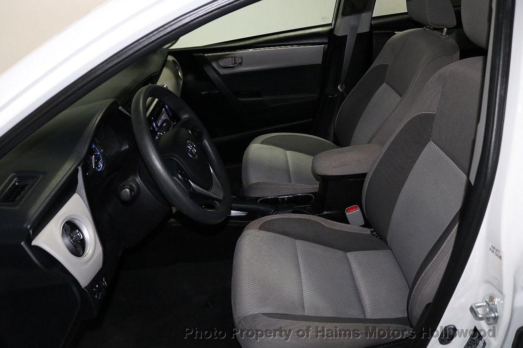 2018 Toyota Corolla LE CVT - 18295701 - 16