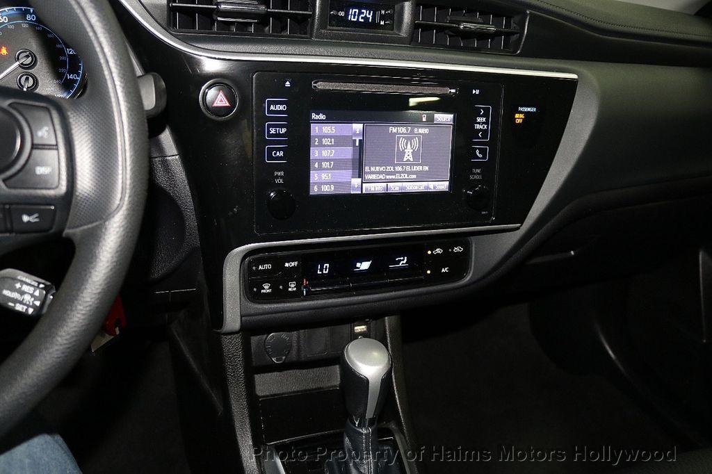 2018 Toyota Corolla LE CVT - 18692233 - 18