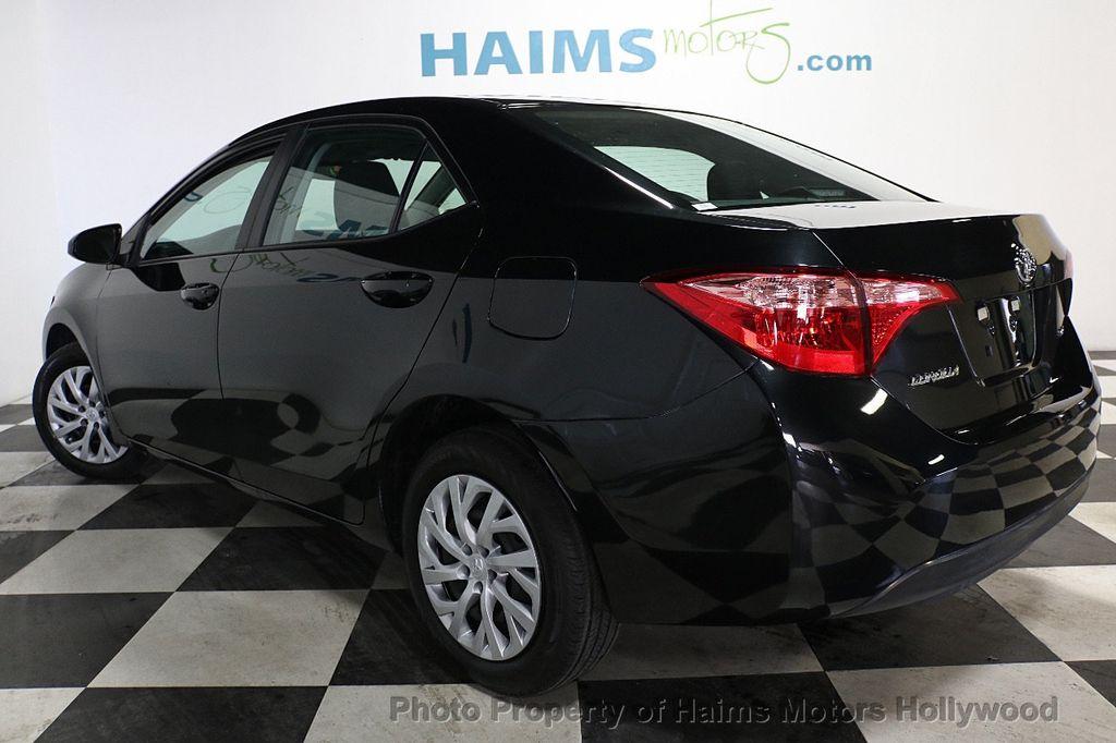 2018 Toyota Corolla LE CVT - 18692233 - 4