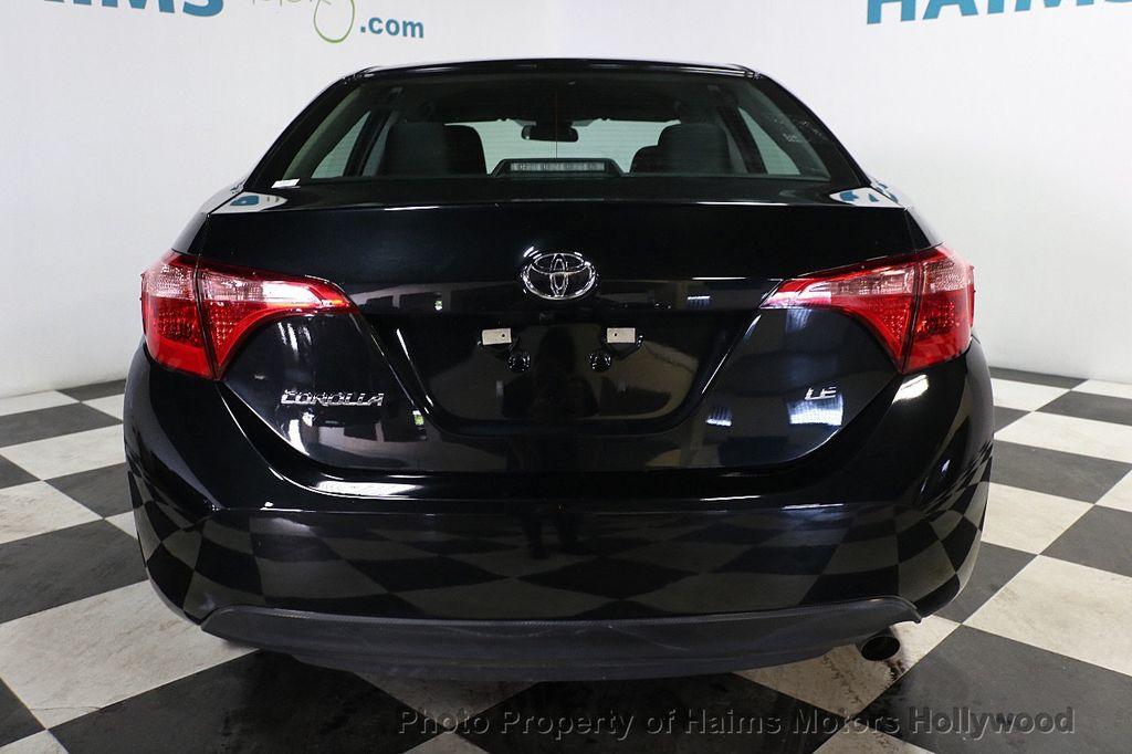 2018 Toyota Corolla LE CVT - 18692233 - 5
