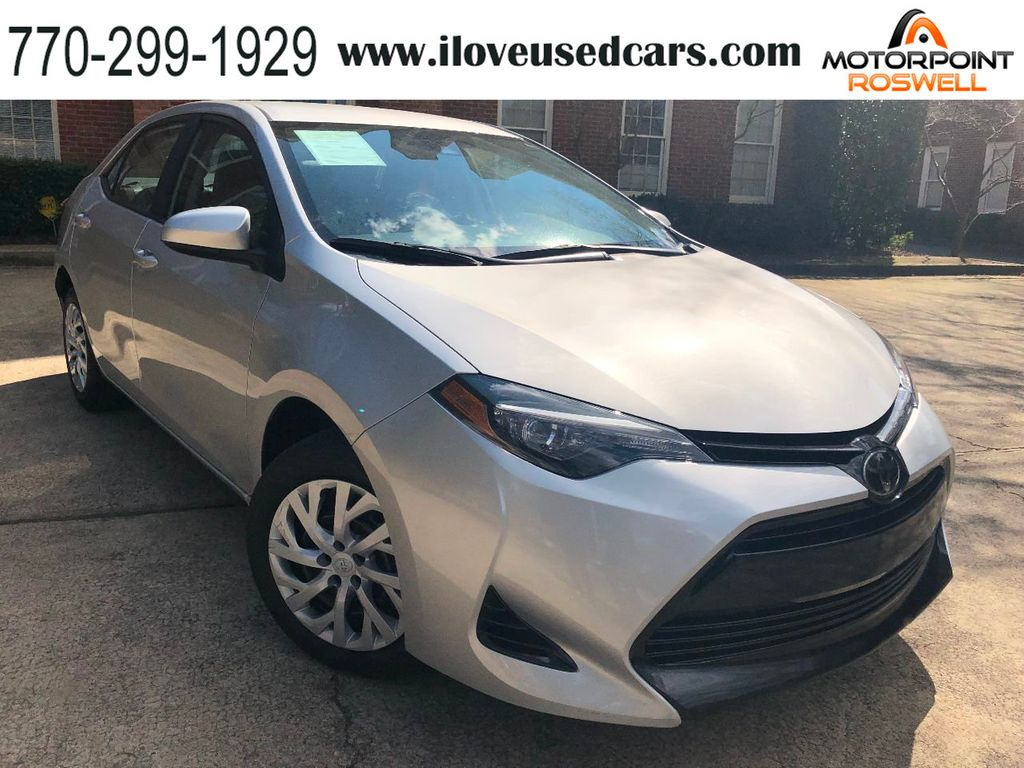 2018 used toyota corolla le cvt at motorpoint roswell, ga, iid