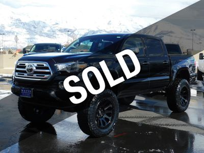 Toyota Tacoma Lifted >> 2018 Used Toyota Tacoma Limited At Watts Automotive Serving Salt Lake City Provo Ut Iid 19392333