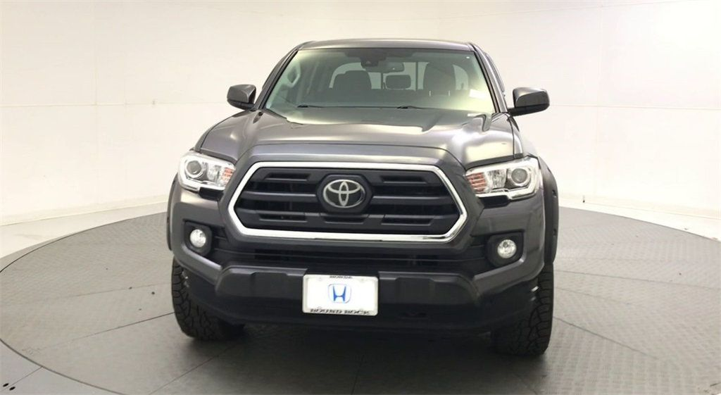 Astounding 2018 Used Toyota Tacoma Sr5 Double Cab 5 Bed V6 4X2 Automatic At Round Rock Honda Serving Austin Georgetown Cedar Park Tx Iid 19579436 Squirreltailoven Fun Painted Chair Ideas Images Squirreltailovenorg