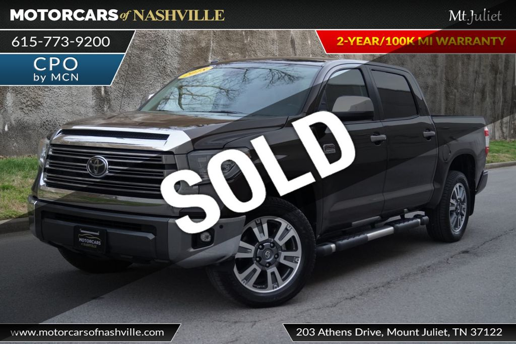 2018 Toyota Tundra 2WD 1794 Edition CrewMax 5.5' Bed 5.7L - 18712573 - 0