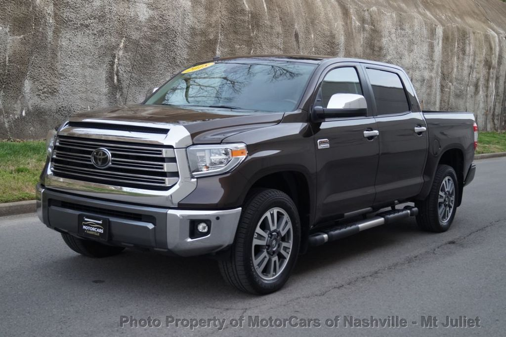 2018 Toyota Tundra 2WD 1794 Edition CrewMax 5.5' Bed 5.7L - 18712573 - 1