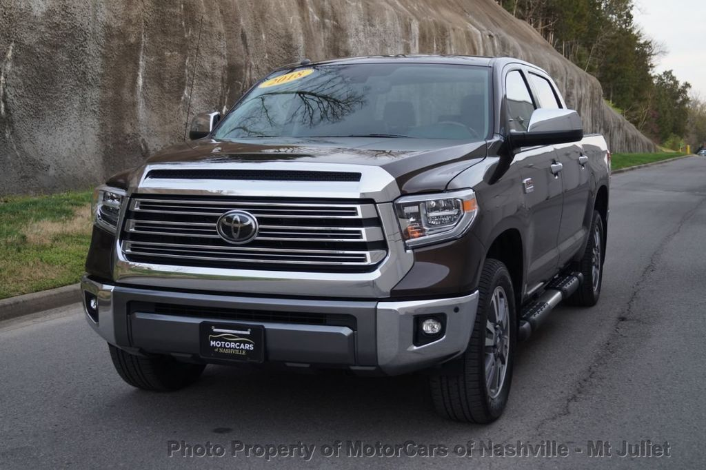 2018 Toyota Tundra 2WD 1794 Edition CrewMax 5.5' Bed 5.7L - 18712573 - 2
