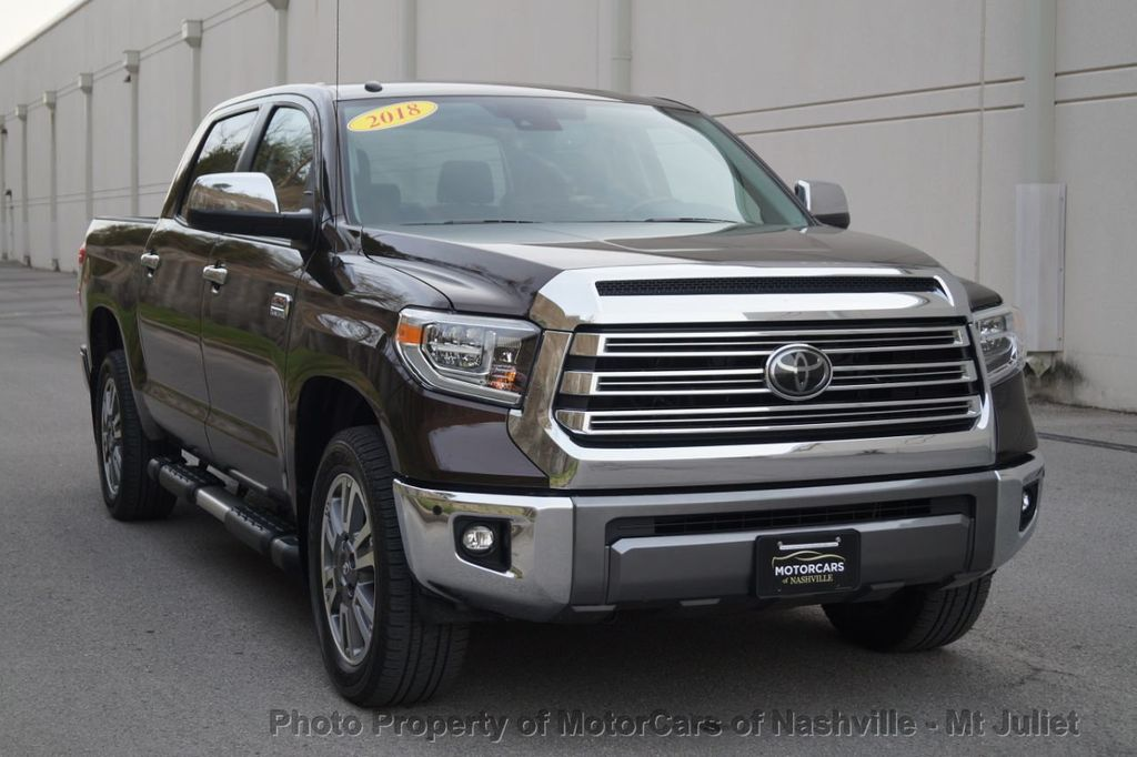 2018 Toyota Tundra 2WD 1794 Edition CrewMax 5.5' Bed 5.7L - 18712573 - 4