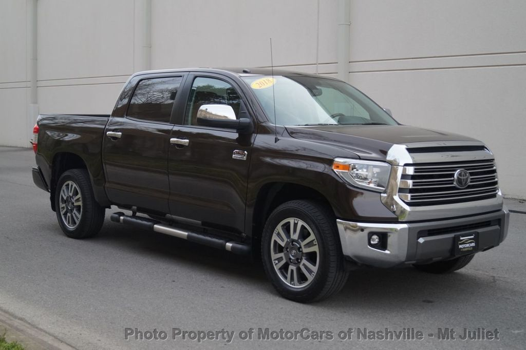 2018 Toyota Tundra 2WD 1794 Edition CrewMax 5.5' Bed 5.7L - 18712573 - 5