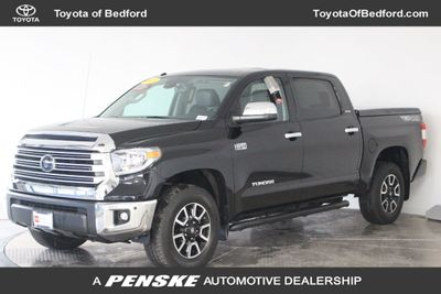 2018 Toyota Tundra 4WD Limited CrewMax 5.5' Bed 5.7L FFV Truck Crew Cab Short Bed