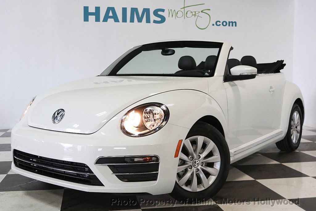2018 Used Volkswagen Beetle Convertible at Haims Motors Serving Fort Lauderdale, Hollywood ...