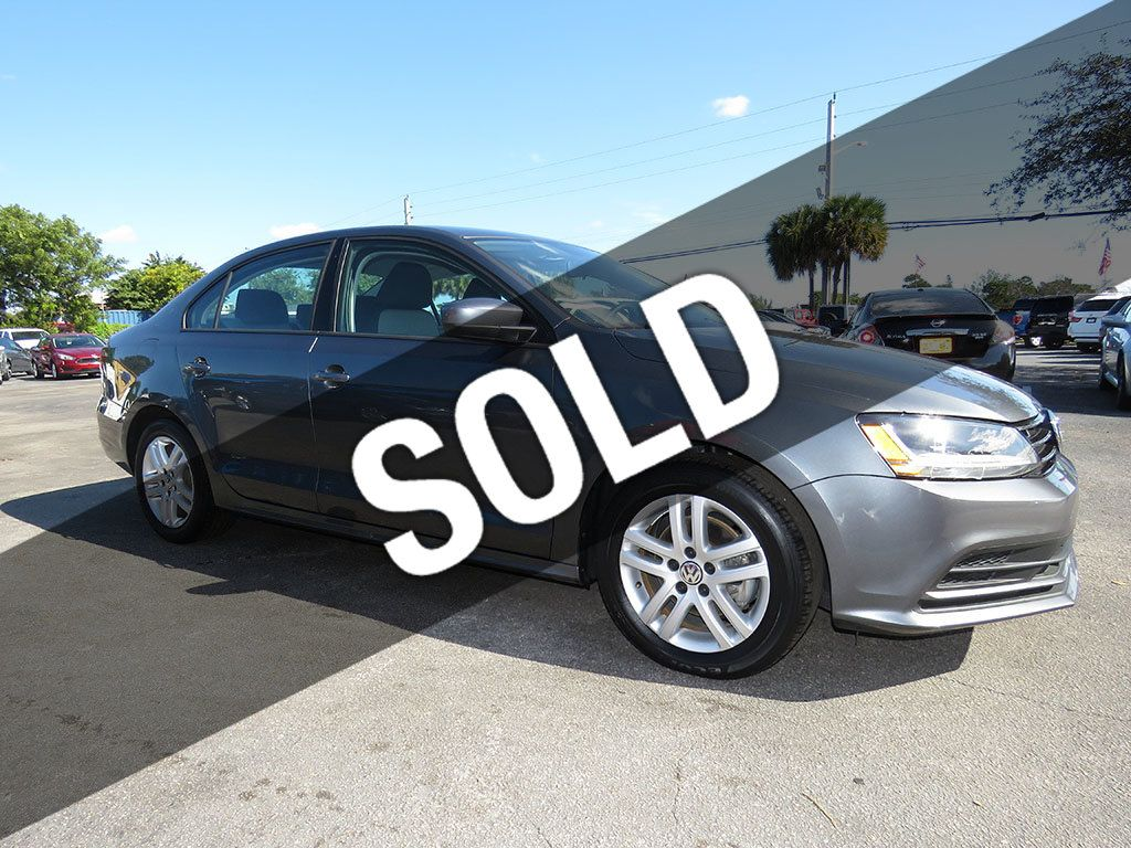 2018 Used Volkswagen Jetta S At Expert Auto Group Inc Serving Pompano Beach Fl Iid 20452141