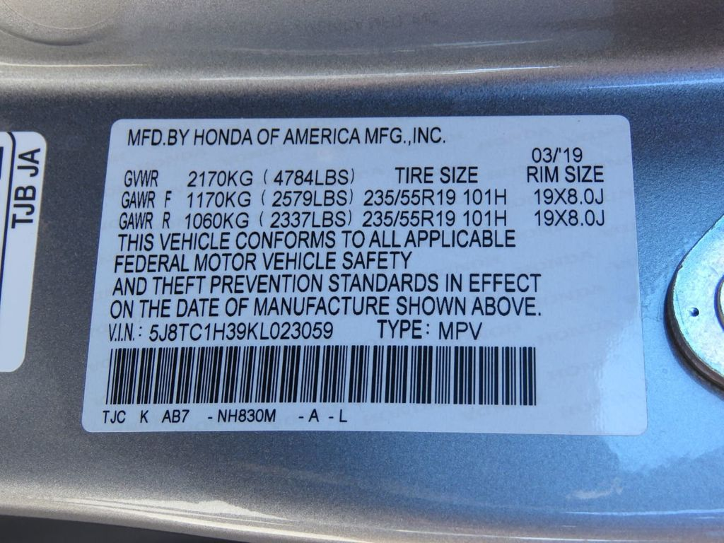 2019 Acura RDX COURTESY VEHICLE  - 18812715 - 36