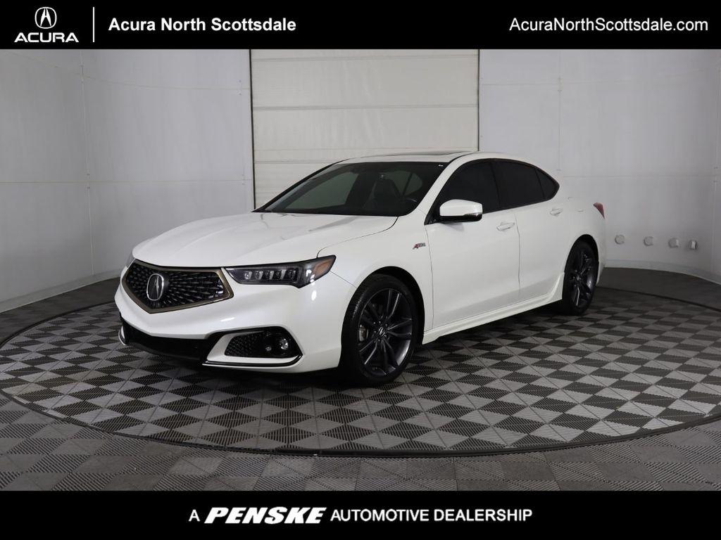 2019 Used Acura Tlx 3 5l Fwd W A Spec Pkg At Mini North Scottsdale Serving Phoenix Az Iid 20488425
