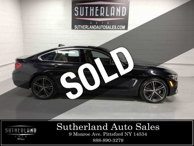 2019 Used Bmw 4 Series 430i Xdrive Gran Coupe At Sutherland Service Center Serving Pittsford Ny Iid 18780787