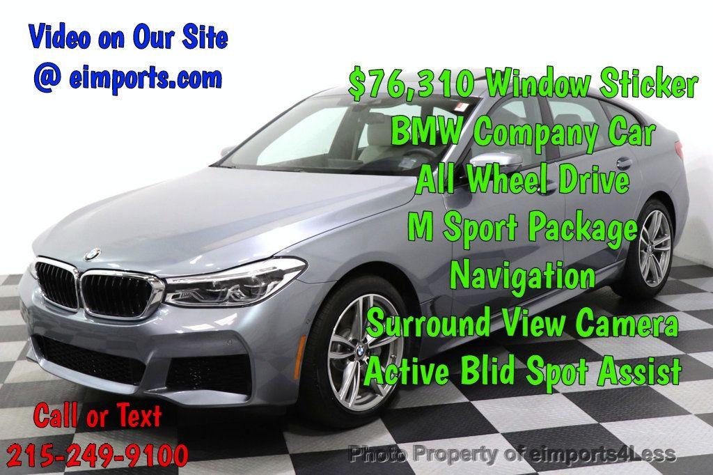2019 BMW 6 Series CERTIFIED 640i xDrive M Sport AWD NAV CAM PANO HUD - 18587081 - 0
