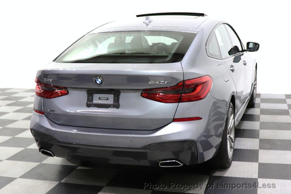 2019 BMW 6 Series CERTIFIED 640i xDrive M Sport AWD NAV CAM PANO HUD - 18587081 - 20