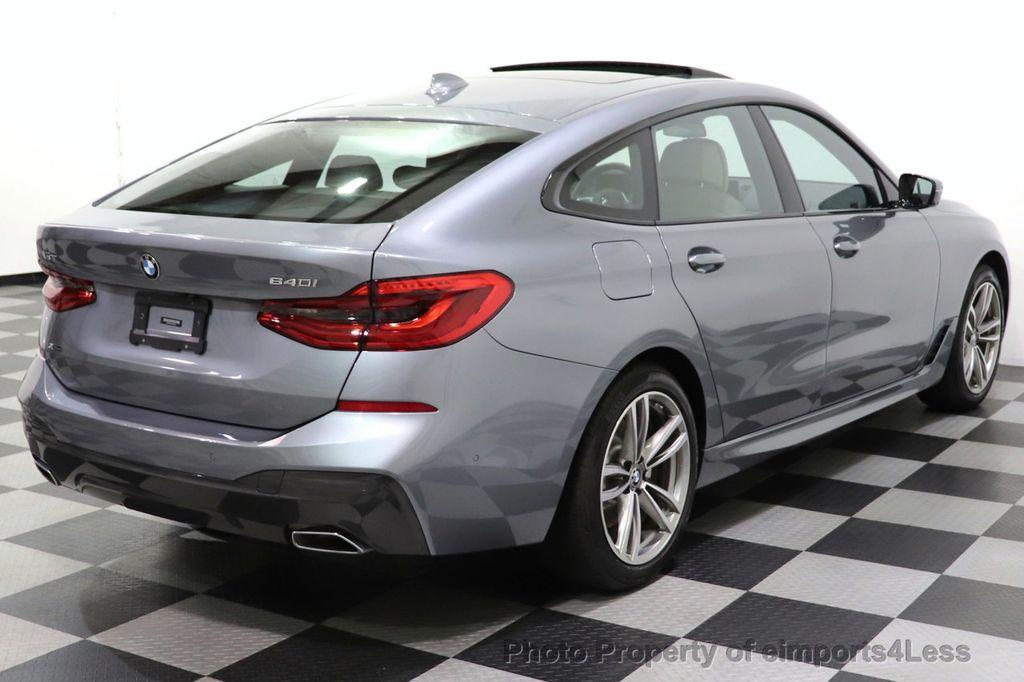 2019 BMW 6 Series CERTIFIED 640i xDrive M Sport AWD NAV CAM PANO HUD - 18587081 - 34