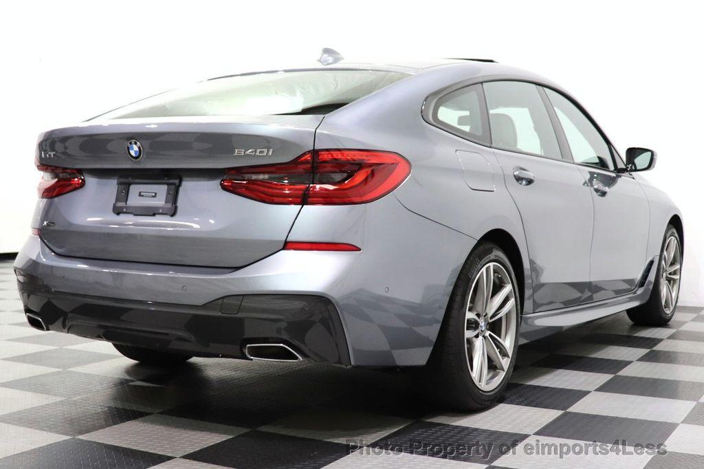 2019 BMW 6 Series CERTIFIED 640i xDrive M Sport AWD NAV CAM PANO HUD - 18587081 - 50