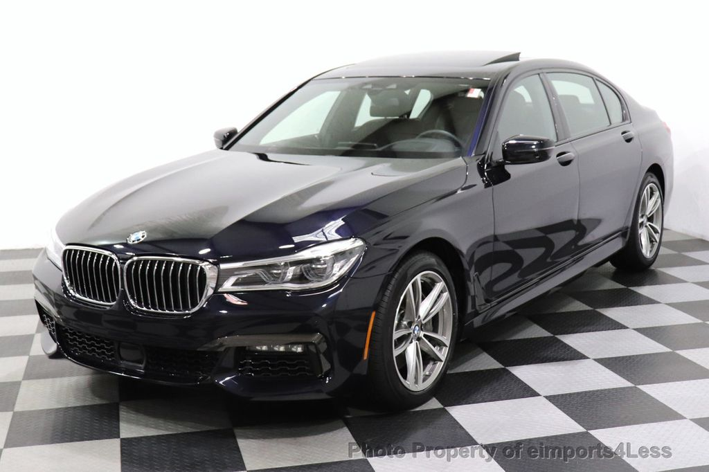 2019 BMW 7 Series CERTIFIED 750i xDrive M Sport AWD Sky Lounge Roof - 18587060 - 47