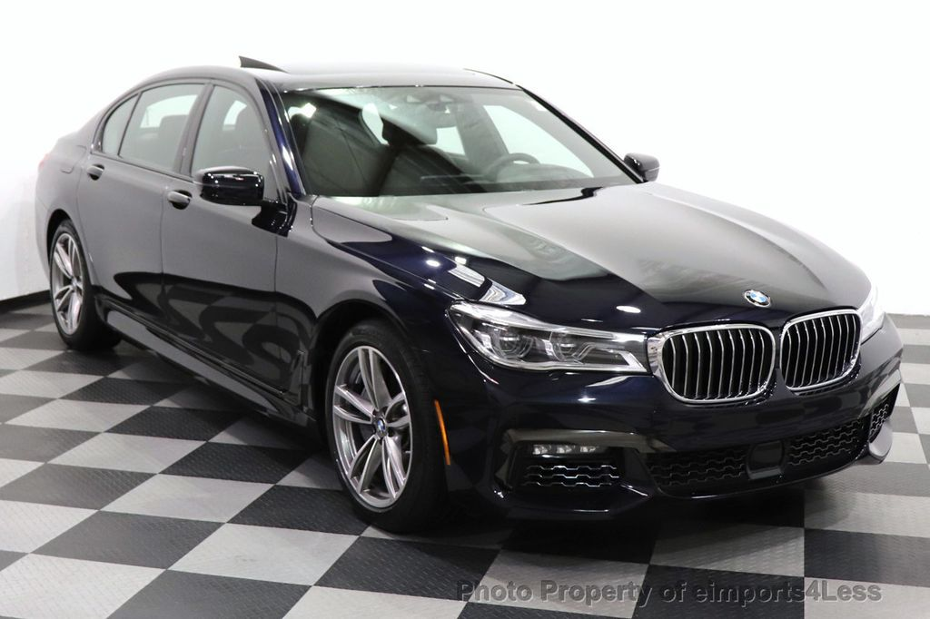 2019 BMW 7 Series CERTIFIED 750i xDrive M Sport AWD Sky Lounge Roof - 18587060 - 48