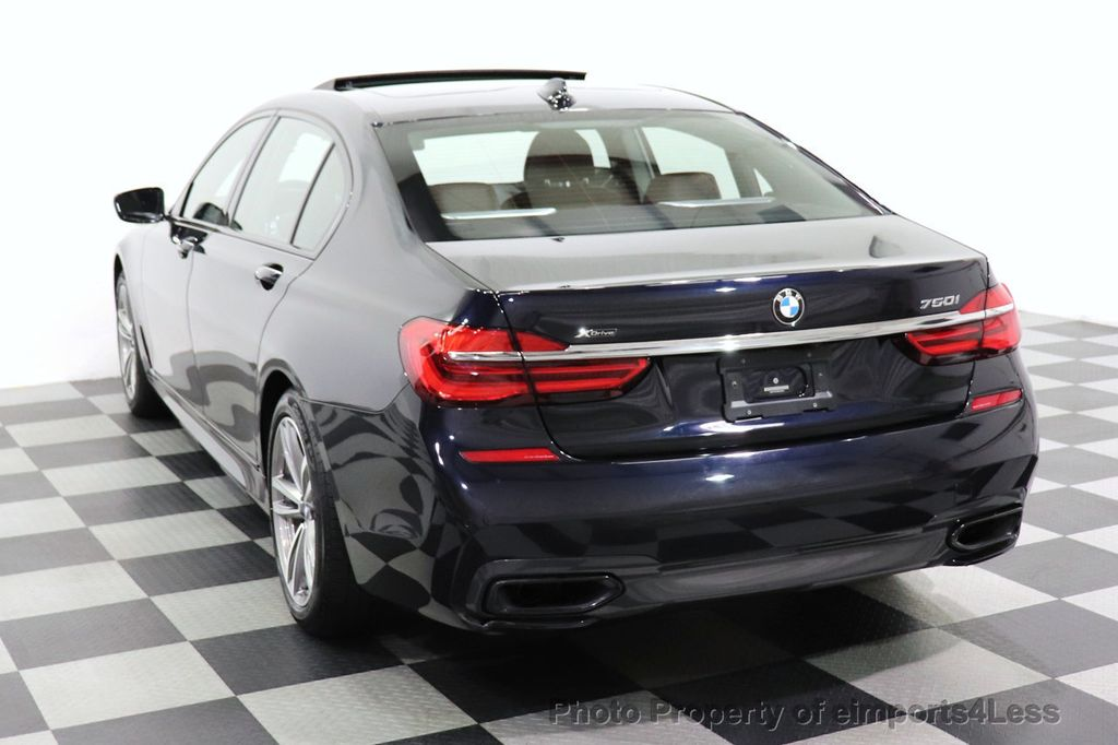 2019 BMW 7 Series CERTIFIED 750i xDrive M Sport AWD Sky Lounge Roof - 18587060 - 49