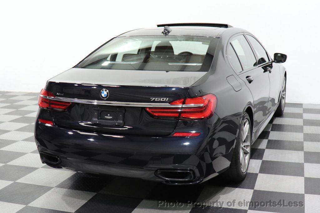 2019 BMW 7 Series CERTIFIED 750i xDrive M Sport AWD Sky Lounge Roof - 18587060 - 50