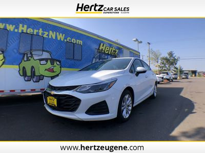 2019 Used Chevrolet Cruze 4dr Sdn Lt At Hertz Car Sales Of Eugene Or Iid 20325410