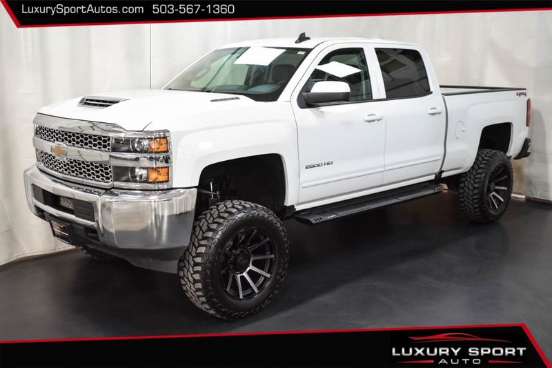 2019 Used Chevrolet Silverado 2500hd 7 Lift Duramax Diesel 20 Kmc 35 Tires Leather 4x4 Loaded At Luxury Sport Autos Serving Tigard Portland Or Iid 20229072