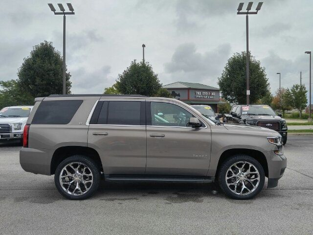 Used Chevy Tahoe >> 2019 Used Chevrolet Tahoe Lt 4x4 22 Chrome Rims New Tires Navigation Heated Leather At Auto Express Lafayette In Iid 19269917