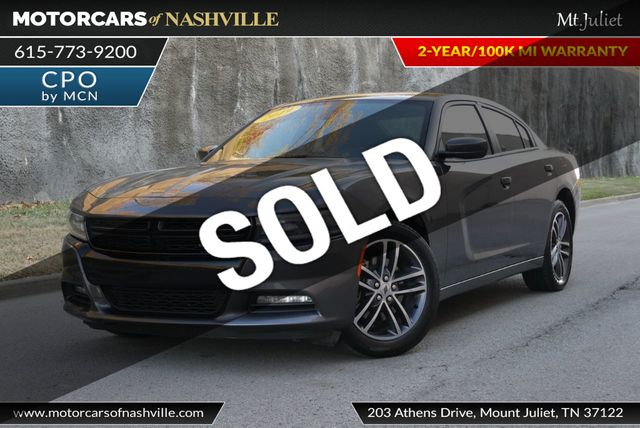 Dodge Dealership Nashville Tn >> 2019 Used Dodge Charger SXT AWD at MotorCars of Nashville - Mt Juliet Serving Mt.Juliet, TN, IID ...