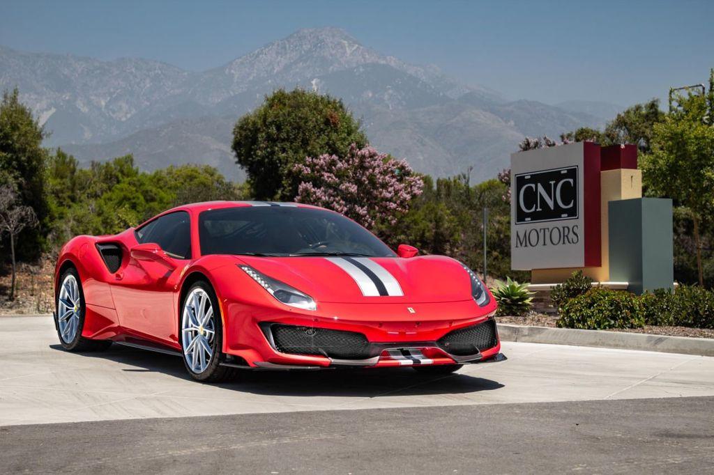 2019 Used Ferrari 488 Pista Huge MSRP at CNC Motors Inc. Serving Upland,  CA, IID 19083638