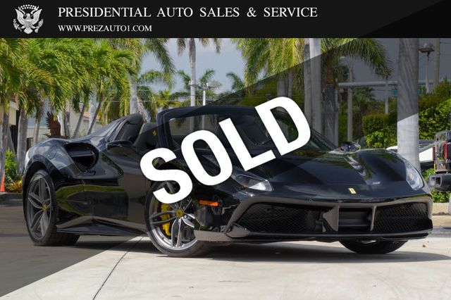 2019 Used Ferrari 488 Spider At Presidential Auto Sales Service And Leasing Serving Palm Beach Boca Raton Delray Beach Fl Iid 18302708