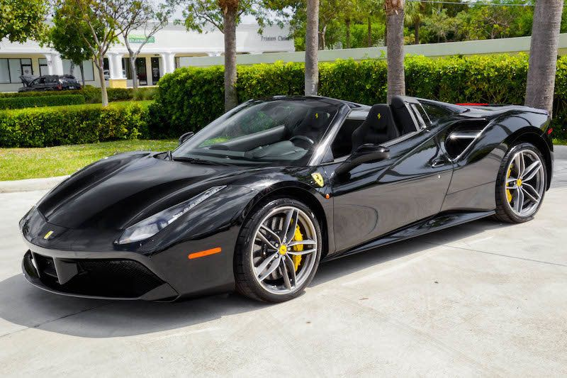 2019 used ferrari 488 spider at presidential auto sales, service and