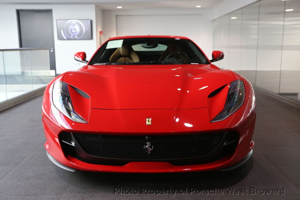 2019 Used Ferrari 812 Superfast Coupe At Porsche West Broward Serving South Florida Hollywood Fort Lauderdale Fl Iid 19603550