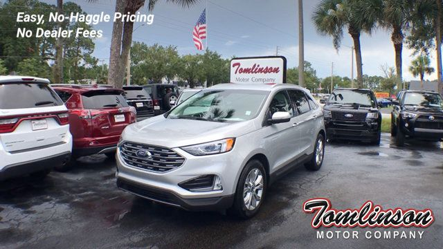 Ford Edge Used >> 2019 Used Ford Edge Titanium Fwd At Tomlinson Motor Company Serving Gainesville Fl And The Southeast Fl Iid 19203293