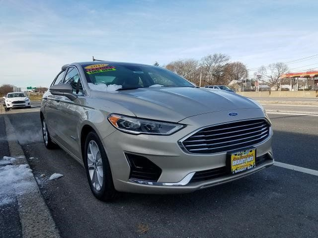 Used Ford Fusion Hybrid >> 2019 Used Ford Fusion Hybrid Sel Fwd At Webe Autos Serving Long Island Ny Iid 19614460