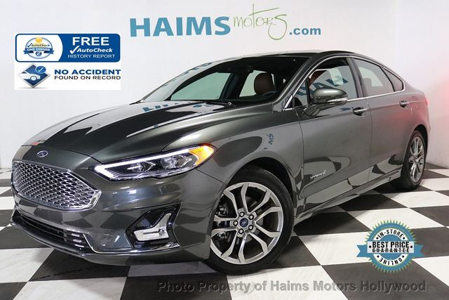 Ford Dealership Fort Lauderdale >> 2019 Used Ford Fusion Hybrid Titanium FWD at Haims Motors Serving Fort Lauderdale, Hollywood ...