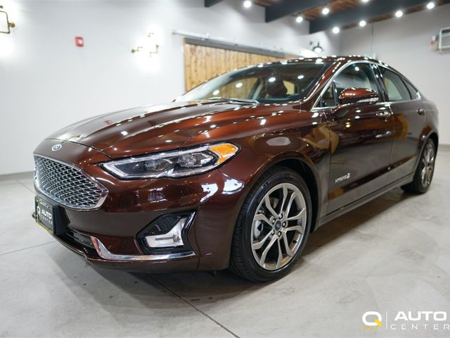 Used Ford Fusion Hybrid >> 2019 Used Ford Fusion Hybrid Titanium Fwd At Quality Auto Center Serving Seattle Lynnwood And Everett Wa Iid 19649383