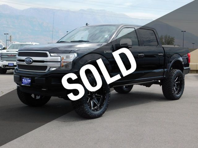 Ford F150 Platinum Lifted >> 2019 Used Ford F 150 Platinum At Watts Automotive Serving