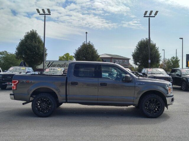 Used F 150 >> 2019 Used Ford F 150 Xlt Crew Cab 4x4 20 Black Raptor Rims 33 New Tires Rear Camera At Auto Express Lafayette In Iid 19269933